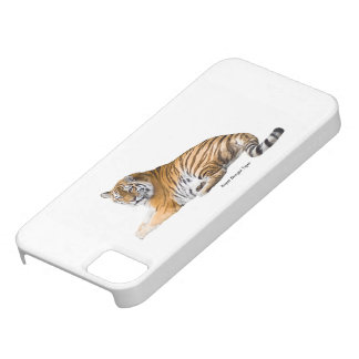 Tiger image iPhone-SE-+-iPhone-5-5S-Barely-There iPhone 5 Case