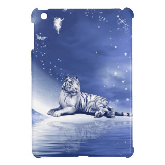 Tiger in blue cover for the iPad mini