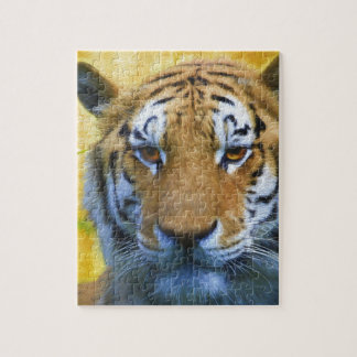 Tiger in the Bamboo - Painting Jigsaw Puzzle