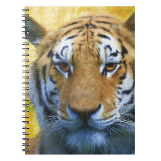 Tiger in the Bamboo - Painting Notebook
