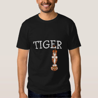 Tiger in trouble tshirt