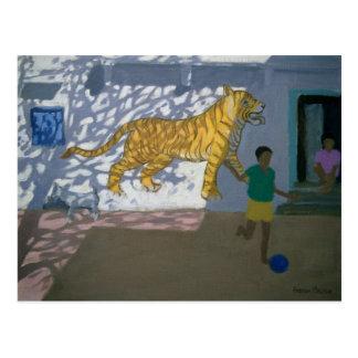 Tiger India Postcard