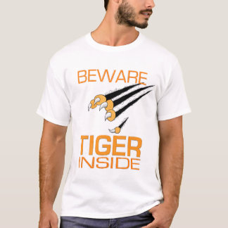 Tiger inside T-Shirt