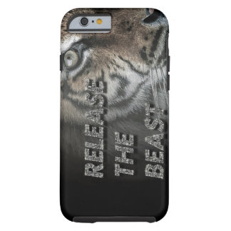 "Tiger iPhone6 case ""Release the beast"