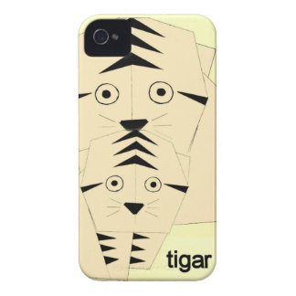 tiger kisses Case-Mate iPhone 4 case
