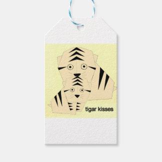tiger kisses gift tags