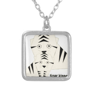 tiger kisses silver plated necklace