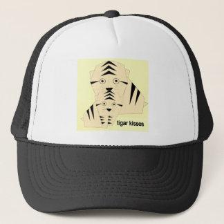 tiger kisses trucker hat