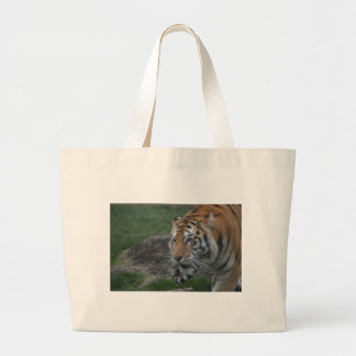 tiger large tote bag