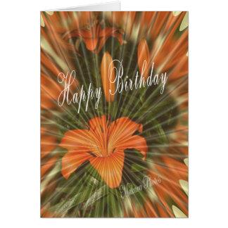 Tiger Lily BD 147 z Card