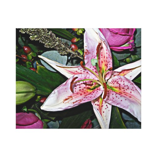 Tiger lily canvas art canvas prints