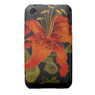 Tiger Lily iPhone 3G Case iPhone 3 Case-Mate Case