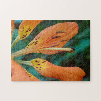Tiger Lily Jigsaw Puzzle