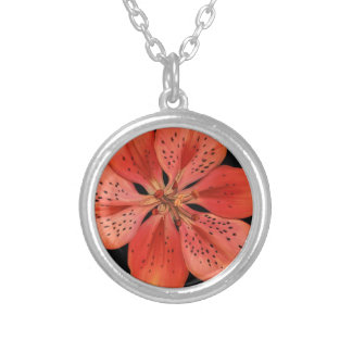 Tiger Lily Painting Custom Necklace