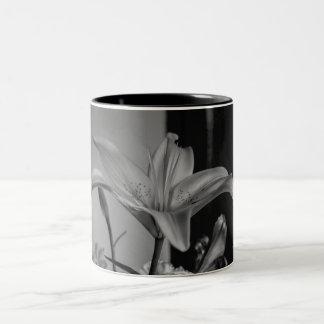 Tiger Lily Two tone coffee mug