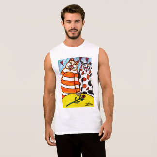 Tiger  Love Sleeveless Shirt