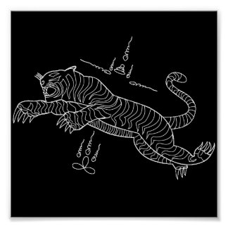 Tiger mantra poster