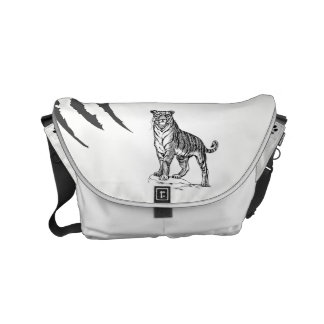 Tiger Messenger Bag by SGD Design