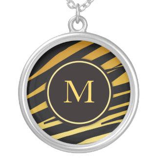 Tiger Monogram Necklace