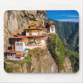 Tiger Nest Monastery Mouse Pad