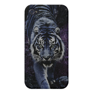 Tiger Night Stalker iPhone Case Cover Case For The iPhone 4