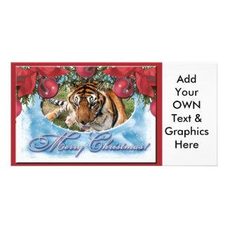 Tiger Nini-c-41 copy Customized Photo Card