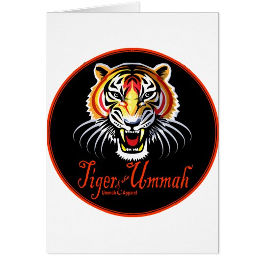 Tiger of the Ummah Card