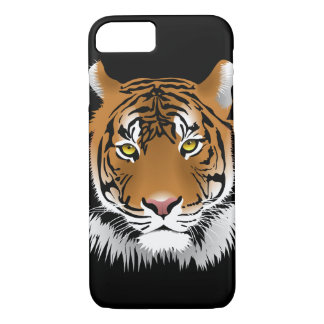 Tiger on Black Background, iPhone 7 Case
