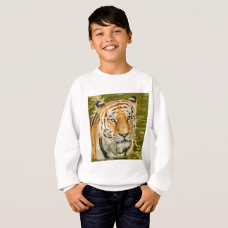 tiger on Kids' Hanes ComfortBlend Sweatshirt