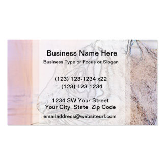 tiger outline with different colours n light lines business card template