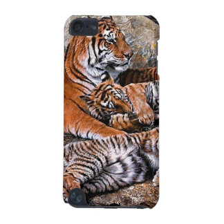 Tiger painting-tiger family-tiger cubs-tiger art iPod touch 5G cover