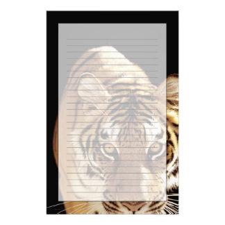 Tiger (Panthera tigris) Stationery Paper