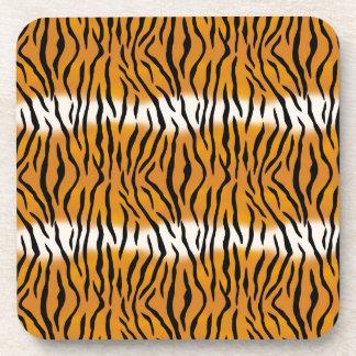 Tiger Pattern Coaster
