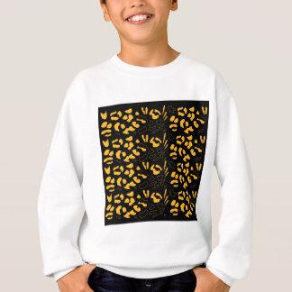 Tiger pattern eco sweatshirt