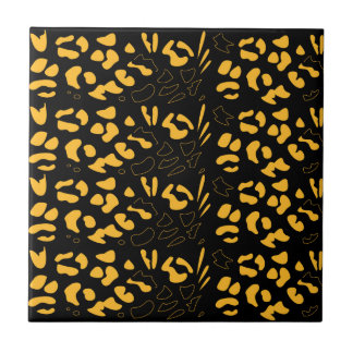 Tiger pattern eco tile