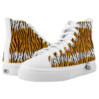 Tiger Pattern High Tops
