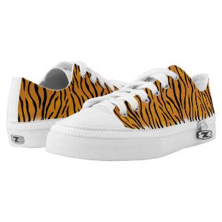 Tiger Pattern Low Tops