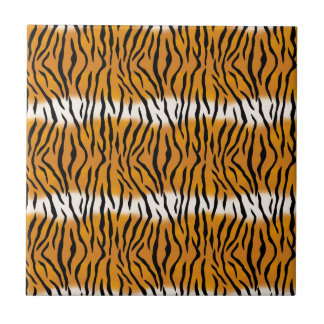 Tiger Pattern Tile