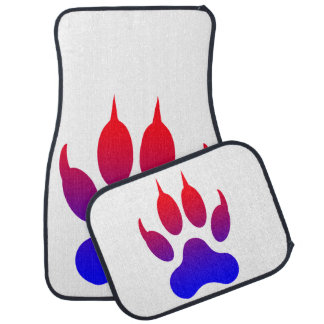 Tiger Paw Car Floor Mats (Full Set)