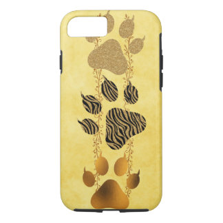 Tiger Paws with Claws iPhone 8/7 Case