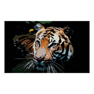 Tiger Poster Print - Pop Art Posters