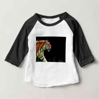Tiger Predator Fur Beautiful Dangerous Cat Baby T-Shirt