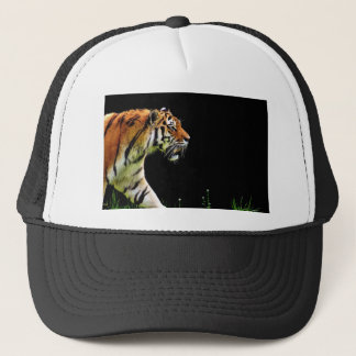 Tiger Predator Fur Beautiful Dangerous Cat Trucker Hat