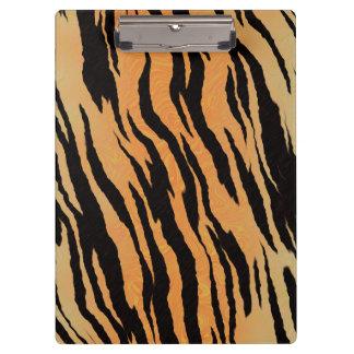 Tiger Print Clipboard
