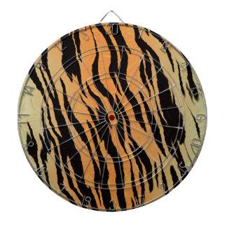 Tiger Print Dartboard