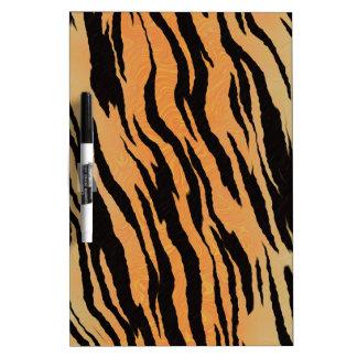 Tiger Print Dry Erase Board