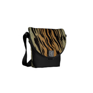 Tiger Print Mini Bag Messenger Bag
