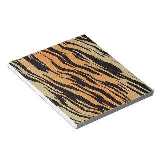 Tiger Print Notepad