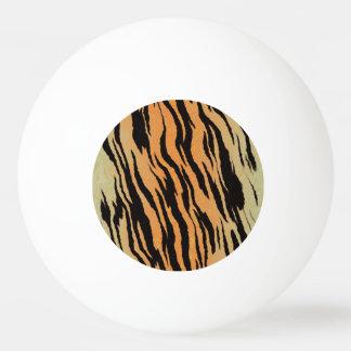 Tiger Print Ping Pong Ball