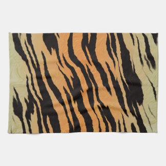 Tiger Print Tea Towel